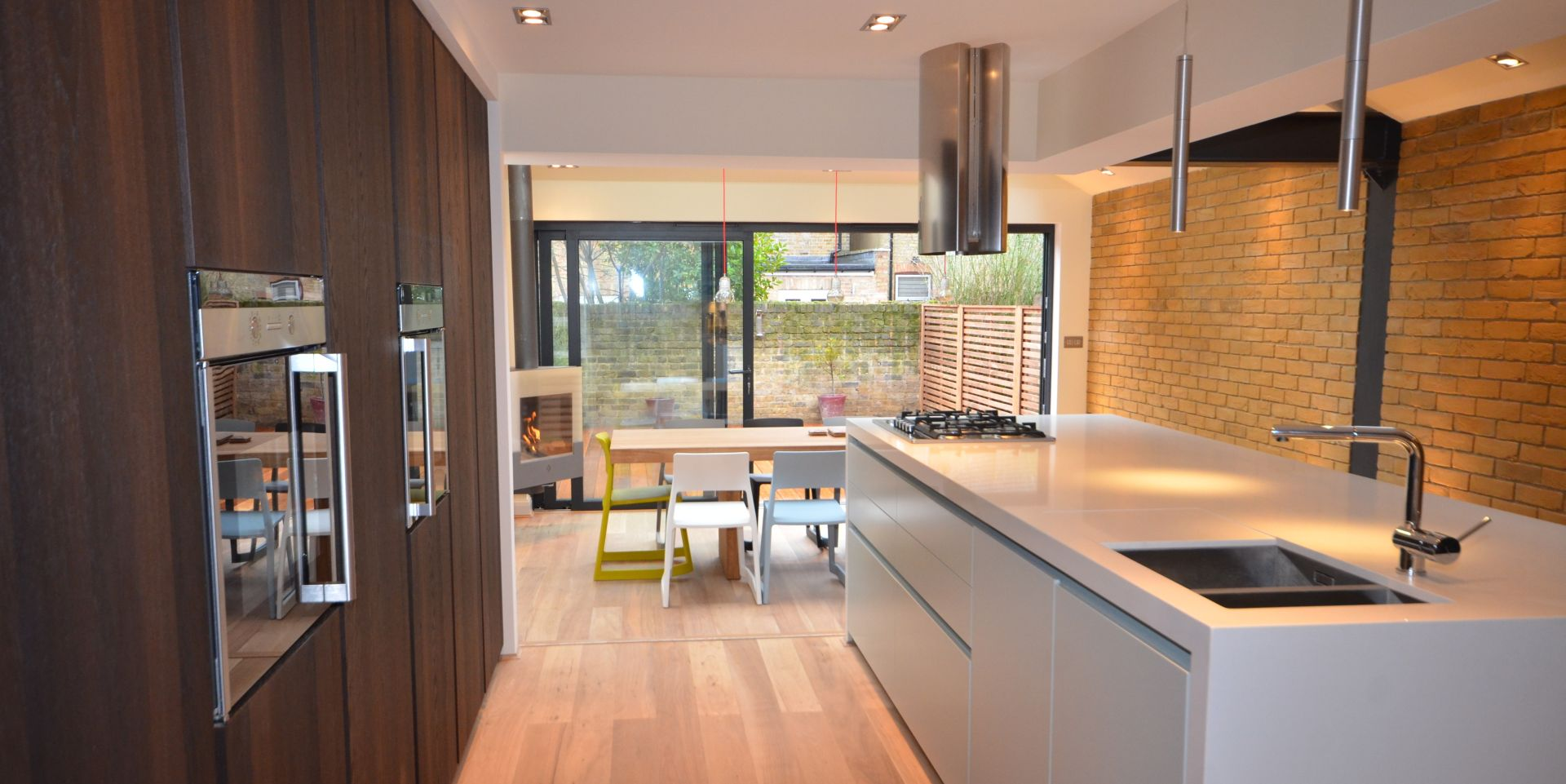 Residential design build extension in ealing london for Kitchen ideas ealing
