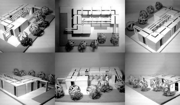 architecture model multiple views